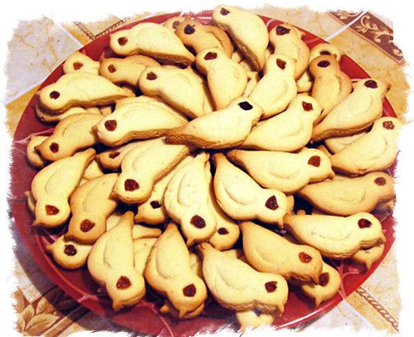 жаворонки печенье
