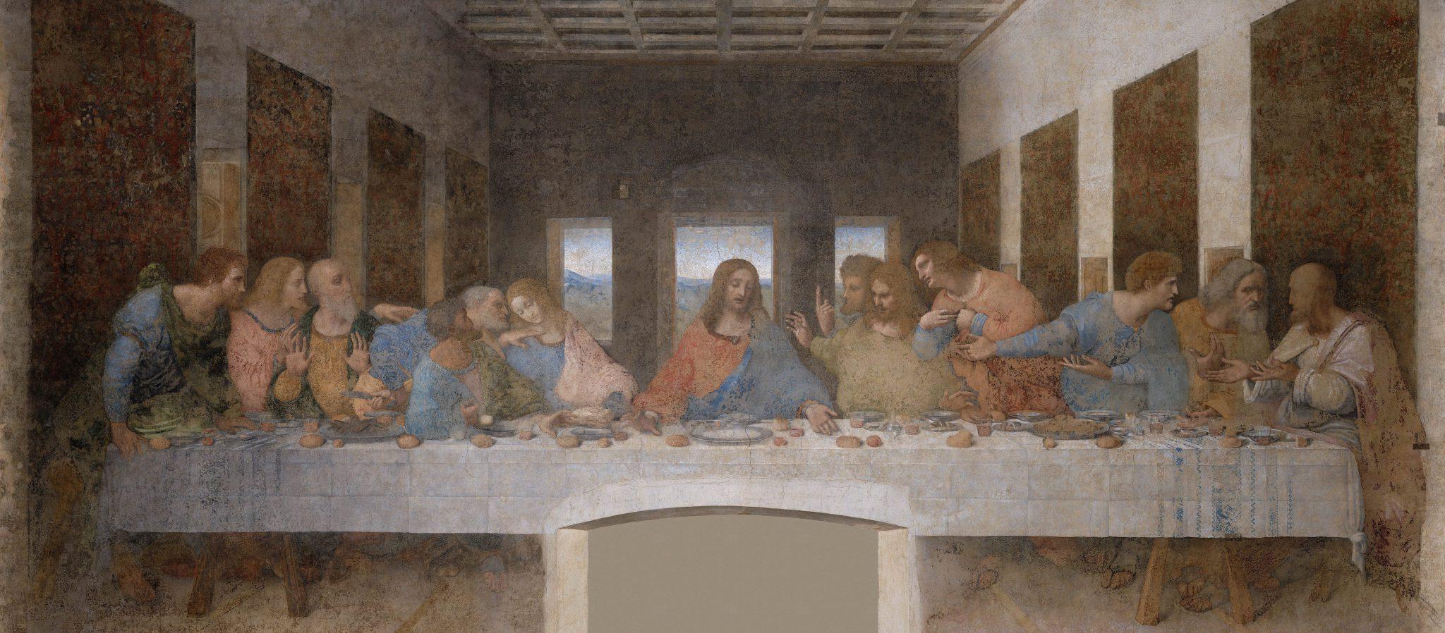 Тайная Вечеря — Леонардо Да Винчи