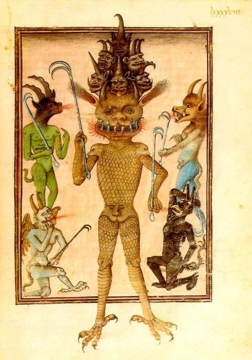 средневековый люцифер