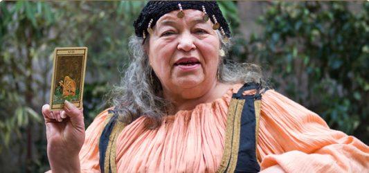 шувани — цыганская ведьма