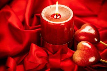 красная свеча для любовной магии