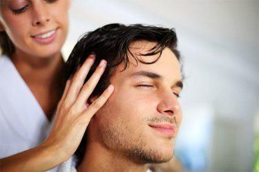 Привязка мужчины через массаж волос