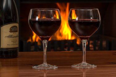 Кровавая присуха с вином