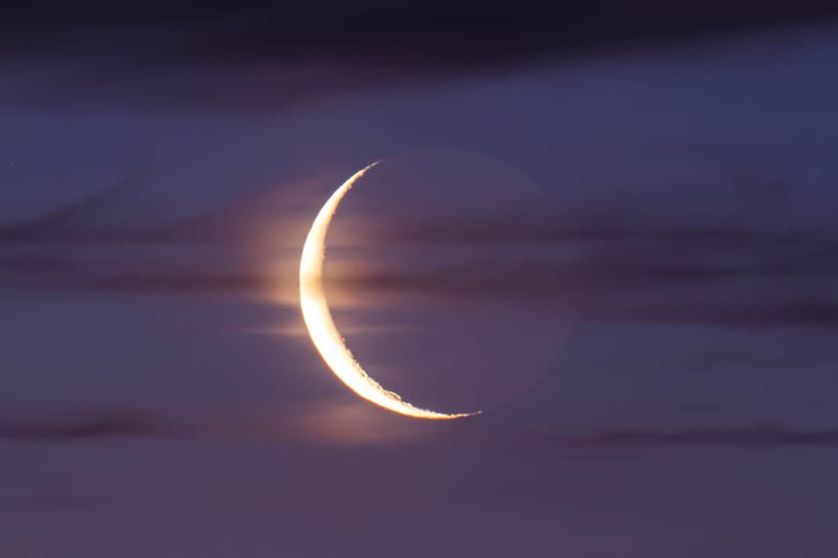 Картинка убывающая луна