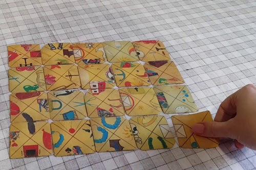 Раскладка индийского пасьянса